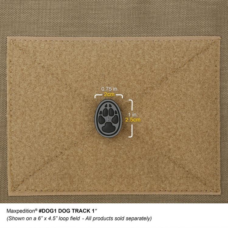 """Nášivka Dog Track 1"""", Maxpedition"""