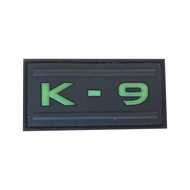 PVC nášivka K-9, svítící