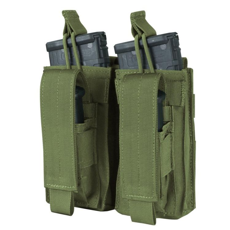 Dvojsumka na 2x M4 a 2x pistolové zásobníky, Condor - Dvojsumka na 2x M4 a 2x pistolové zásobníky, Condor