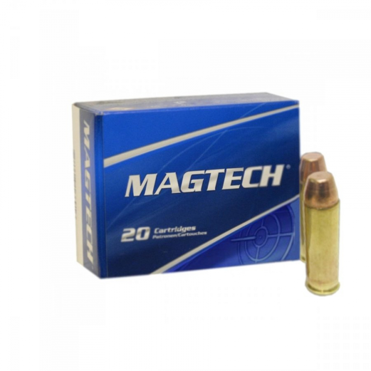 Náboje .500 S&W Magnum, FMJ FLAT, 325 grs, 20 ks, Magtech