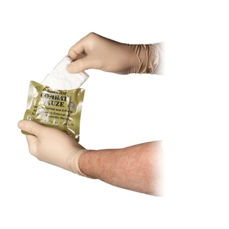 Bojová gáza QuikClot®  Z-Fold s homeostatikem, skládaná, Z-MEDICA