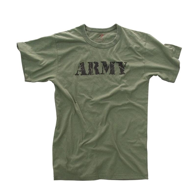 Pánské tričko Army, olivové, Rothco