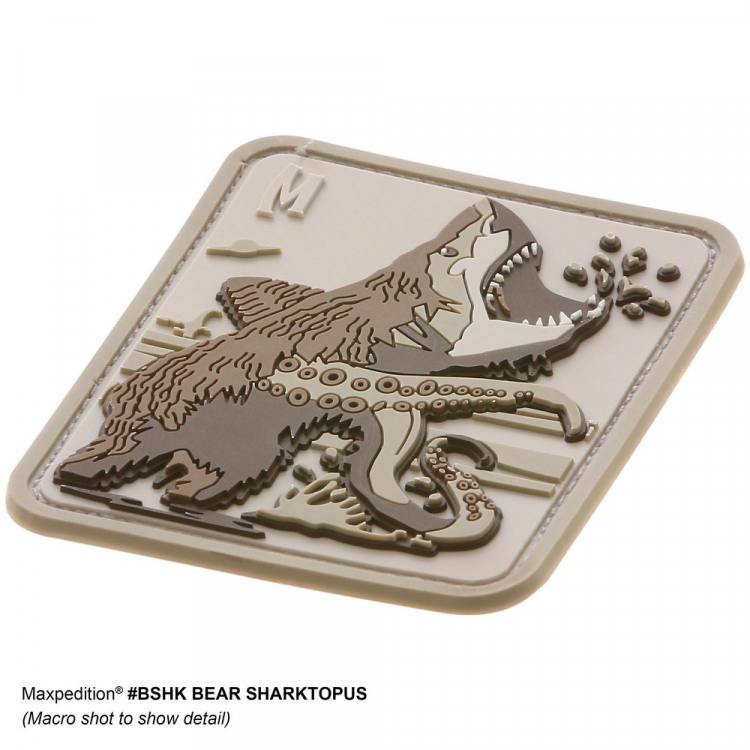 Nášivka Maxpedition Bear Sharktopus