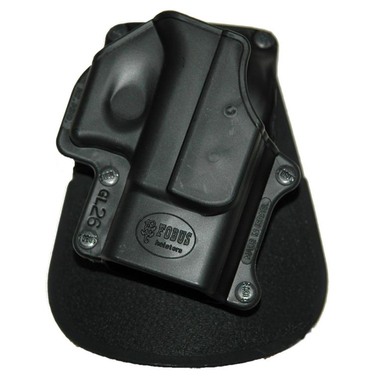 Levé pouzdro na pistoli Glock 26, rotační pádlo, Fobus