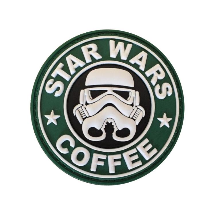 PVC nášivka Star Wars and Coffee
