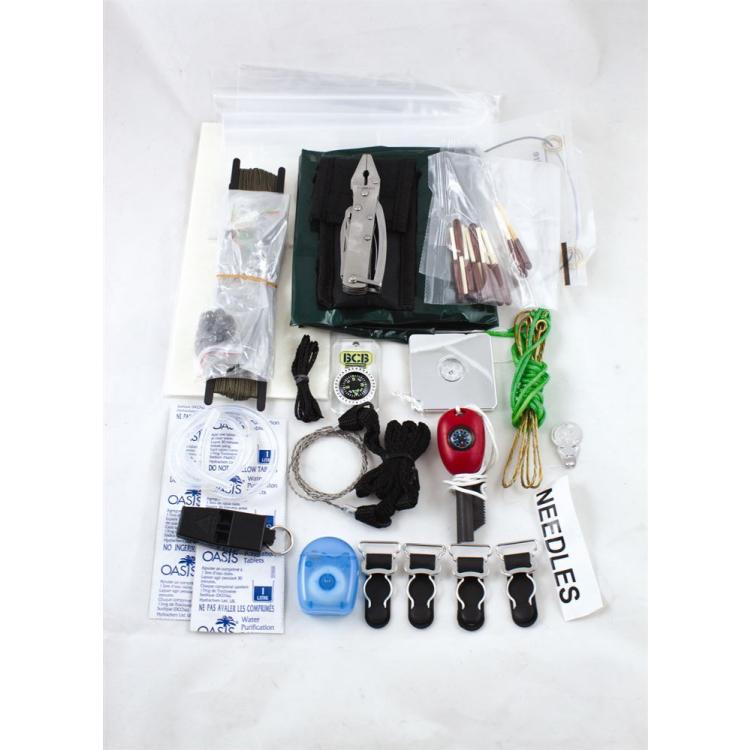 Krabička poslední záchrany Bushcraft Survival Kit, BCB