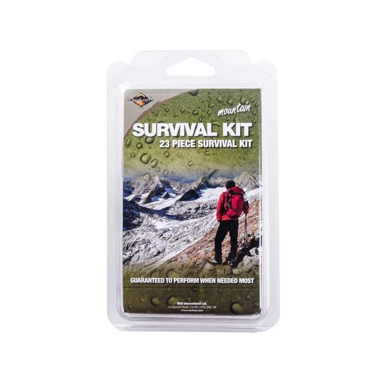 Krabička poslední záchrany Mountain Survival Tin, BCB