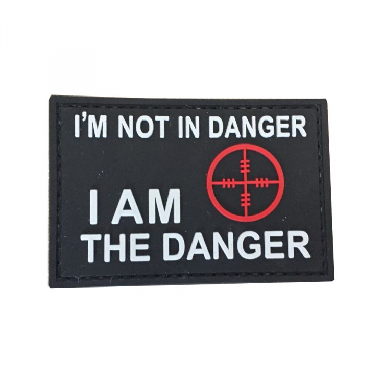 PVC nášivka I am not in Danger