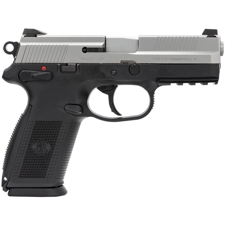 Pistole FNX-9, 9 mm, Nerez
