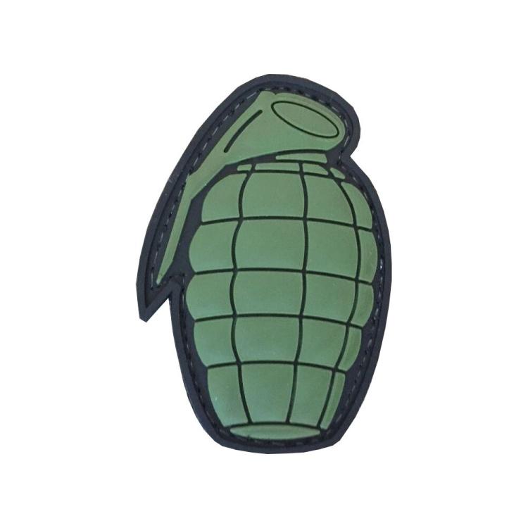 PVC nášivka Grenade