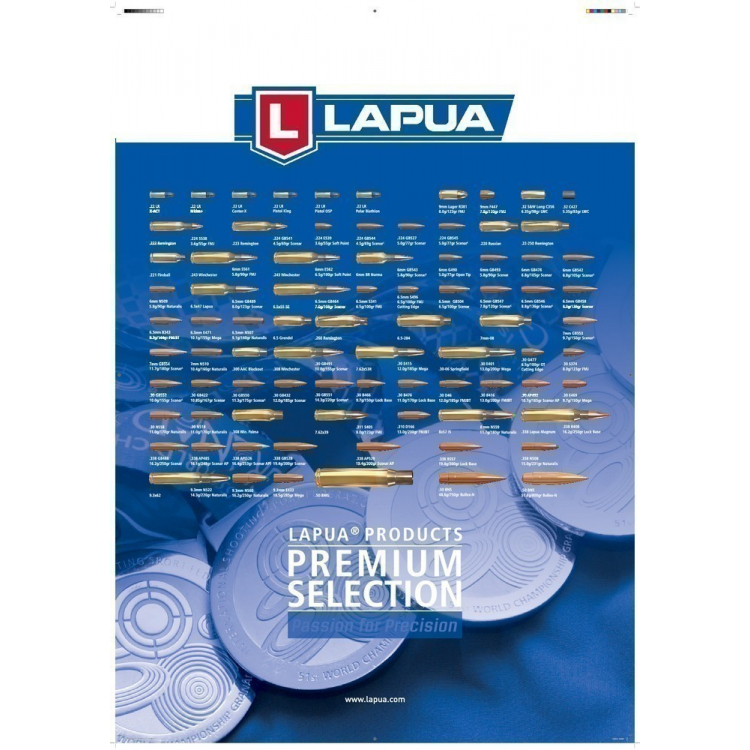 Náboje LAPUA .338 Lapua Magnum SCENAR 16,20g, 10 ks