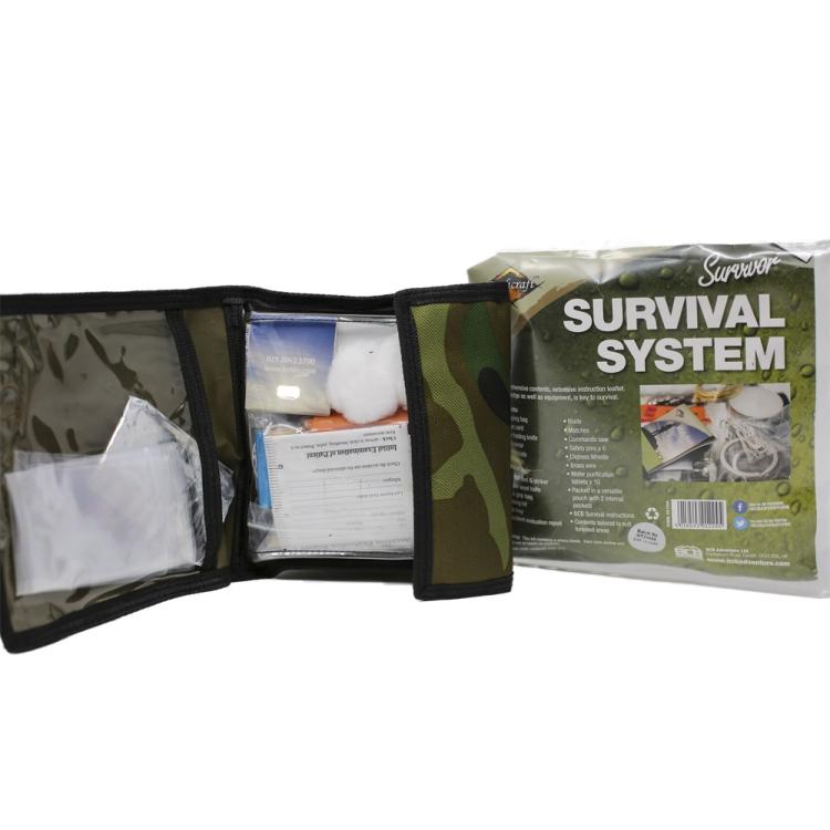 Krabička poslední záchrany Survival System, BCB