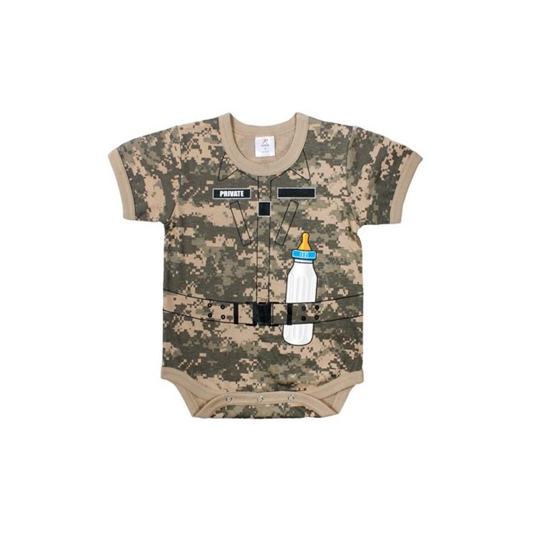 Dětské body Rothco Infant Soldier, ACU Digital
