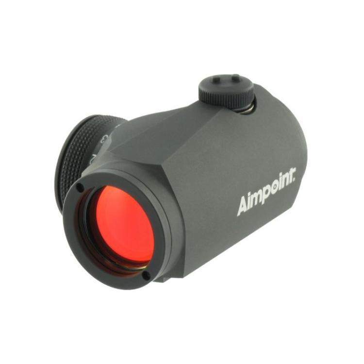 Kolimátor Aimpoint Micro H1, 2MOA, montáž Weaver/Picatinny