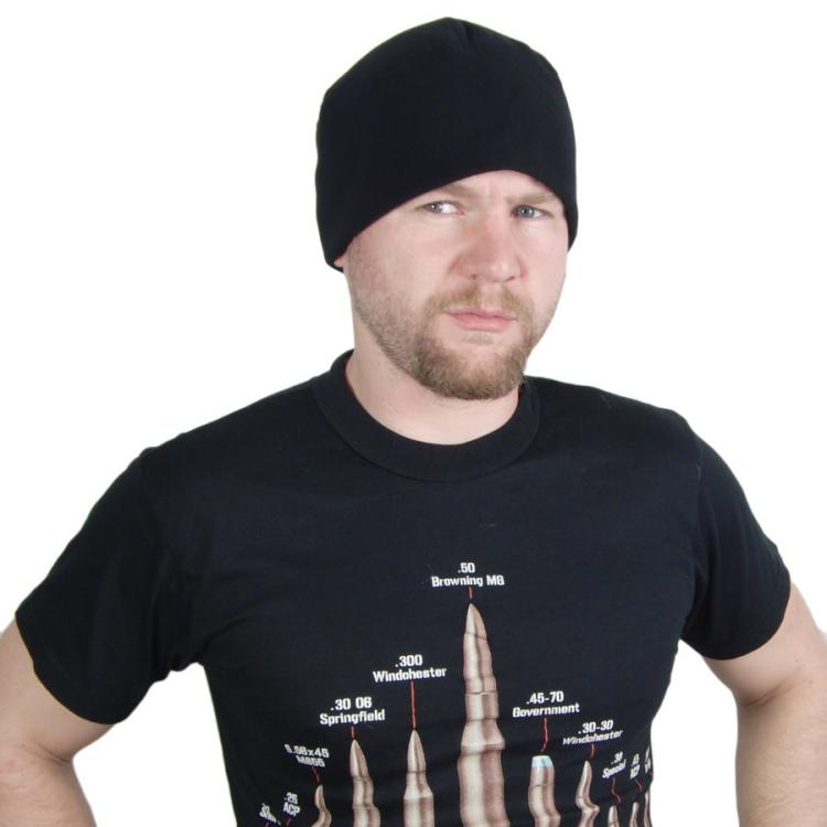 Čepice Watch Cap, Polar Fleece, černá, Rothco - Čepice Watch Cap, Polar Fleece černá, Rothco