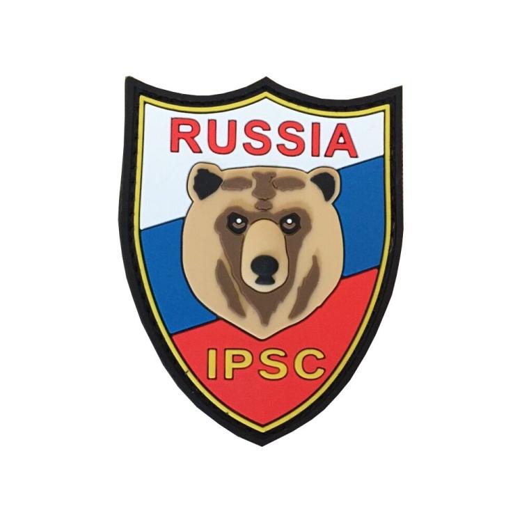 PVC nášivka Russia IPSC