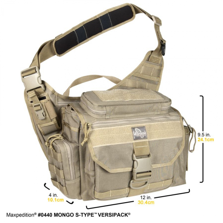 Brašna Maxpedition Mongo Versipack S-Type