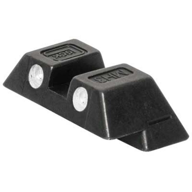 Tritiové ocelové hledí 6,5 mm pro Glock