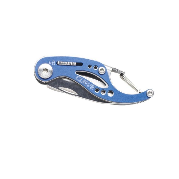 Multifunkční zavírací nůž Gerber Curve, hladké ostří, modrý - Multifunkční zavírací nůž Gerber Curve, hladké ostří, modrý