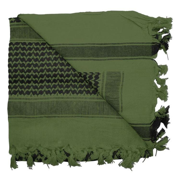 Šátek Shemagh Deluxe, zelený, Rothco - Šátek Shemagh deluxe Rothco, zelený