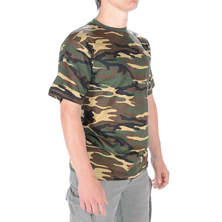 Pánské maskáčové tričko, Mil-Tec