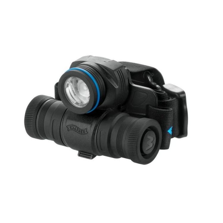 Svítilna-čelovka Walther HL11, 205/80/20 lumenů, stroboskop