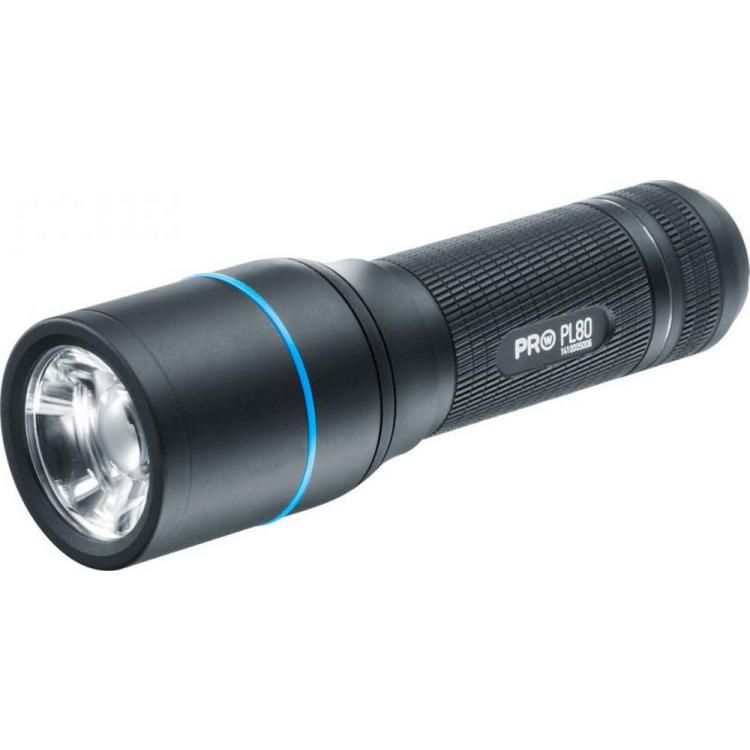 Svítilna Walther PL80, 535 lumenů, 3 úrovně svitu, Tactical STROBE - Svítilna Walther PL80, 535 lumenů, 3 úrovně svitu, Tactical STROBE