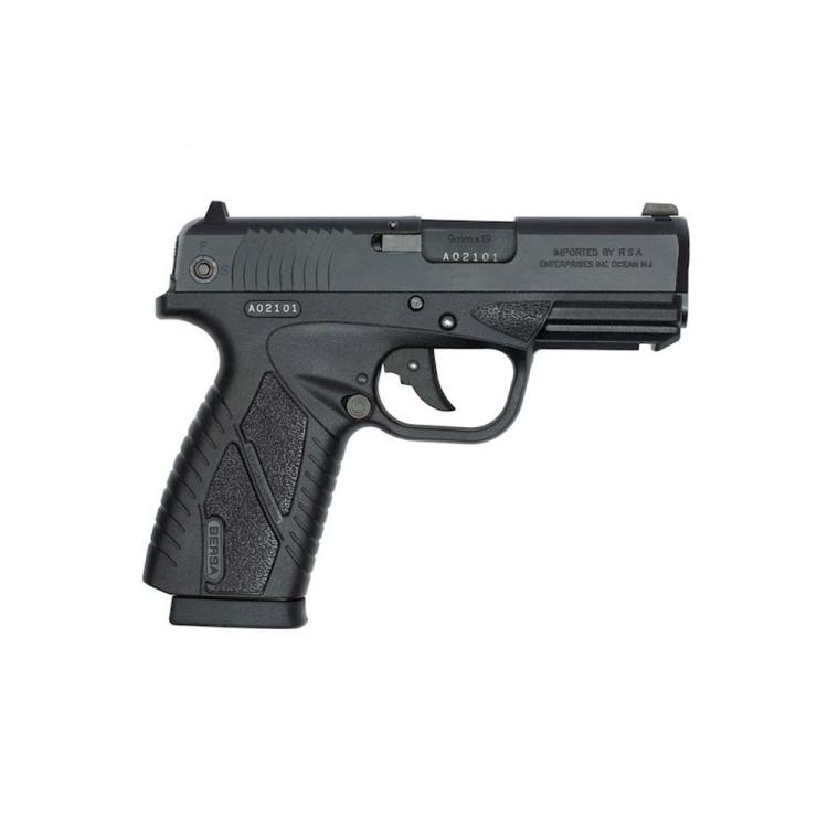 Pistole Bersa BP9CC, ráže 9x19, polymer. rám s railem, černá
