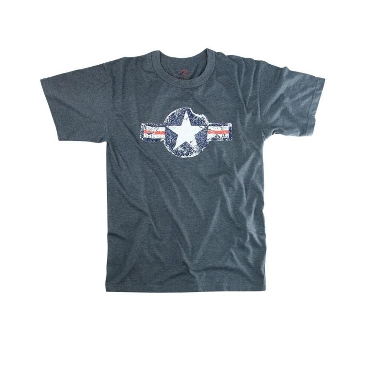 Pánské triko Army Air Corp, modré, Rothco