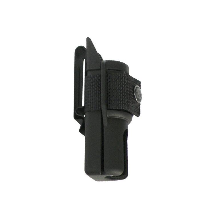 Plastové pouzdro pro teleskopický obušek, krátké s klipem, ESP - Plastové pouzdro pro teleskopický obušek, krátké, klip