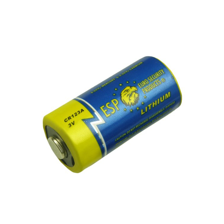 Lithiová baterie CR 123A, 3V