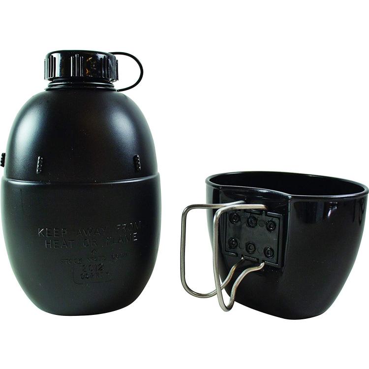 Britská polní láhev + hrnek, BCB, 950 ml