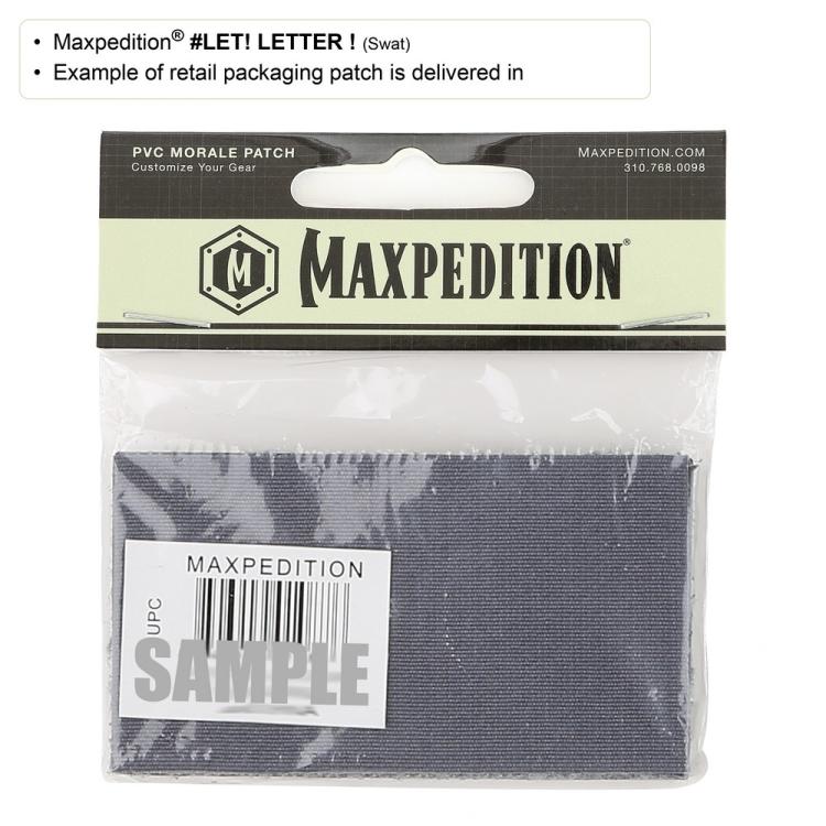 Nášivka Letter !, Maxpedition