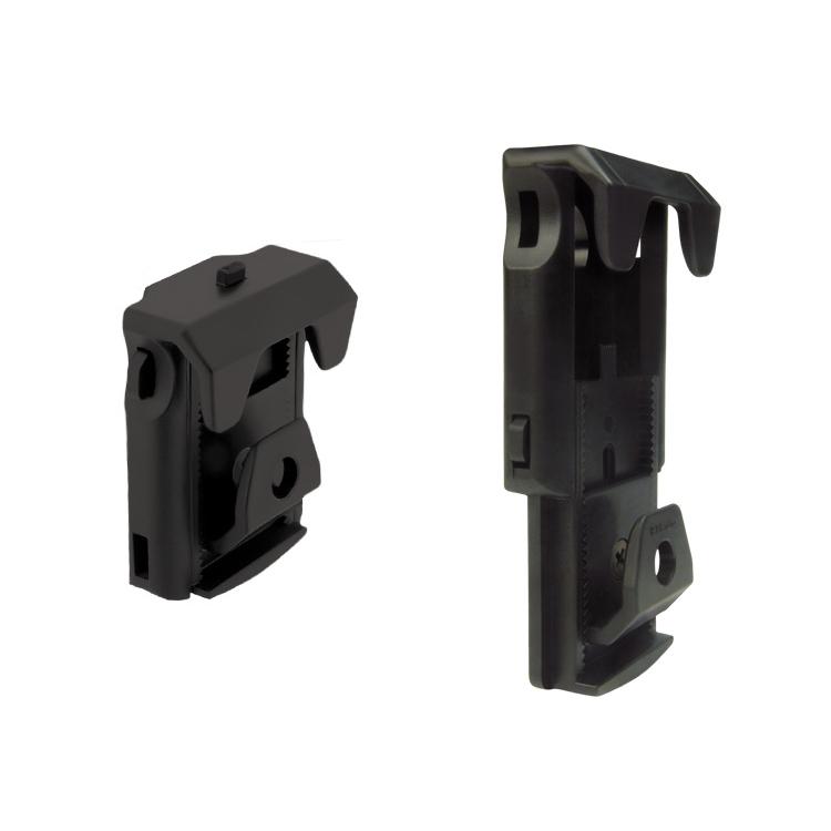 Rotační plastové pouzdro pro dvouřadý zásobník 9mm Luger, MH-04, černé, ESP