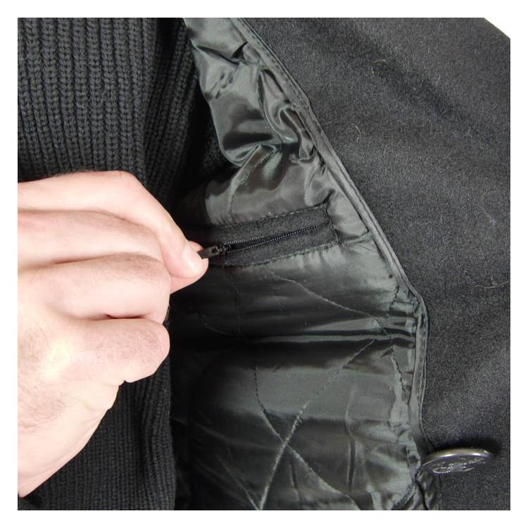 Pánský námořnický kabát Pea Coat, Surplus - Pánský námořnický kabát Pea Coat