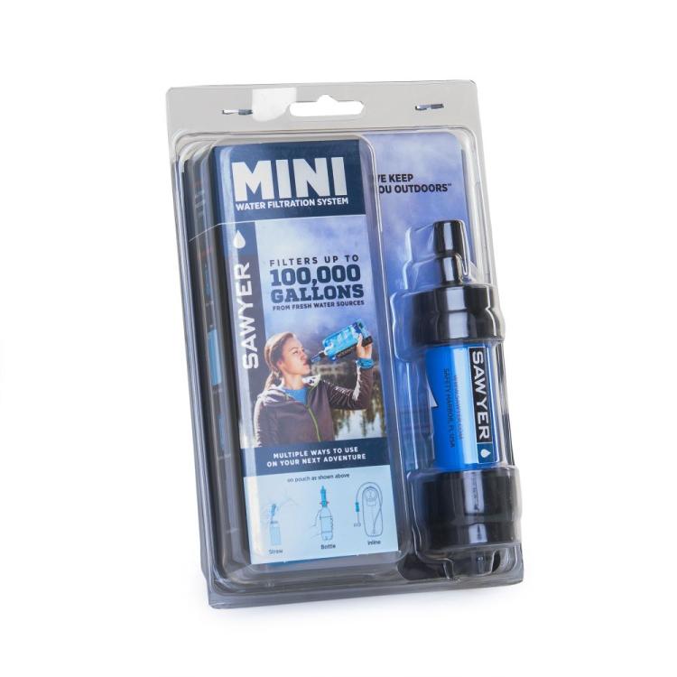 Vodní cestovní filtr MINI Filter, modrý, Sawyer