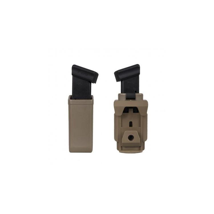 Rotační plastové pouzdro pro dvouřadý zásobník 9mm Luger, MH-04, khaki, ESP