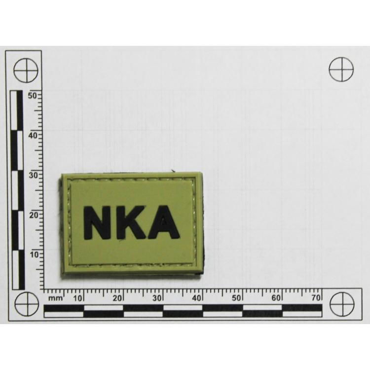 PVC nášivka NKA