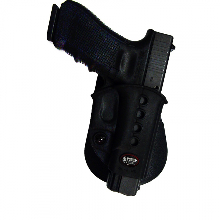 Pouzdro na pistoli Glock 17 a Glock 19, rotační pádlo, Fobus