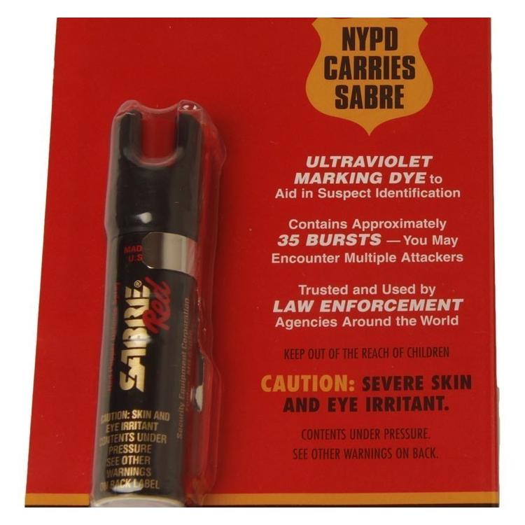 Pepřový sprej s UV stopou, 22 g, střela, Sabre Red - Pepřový sprej s UV stopou, 22 g, střela, Sabre Red
