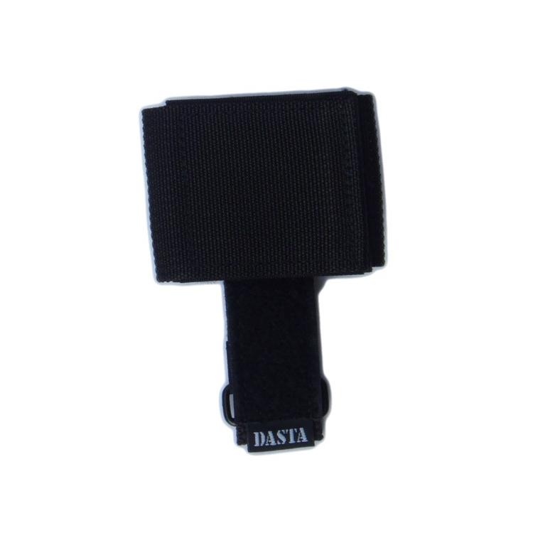Závěs na rukavice se suchým zipem, černý, Dasta 681-1