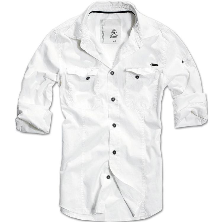 Pánská košile SlimFit Shirt, Brandit - Pánská košile Brandit SlimFit Shirt