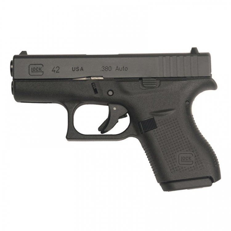 Pistole Glock 42, 9 mm Browning (380 Auto)