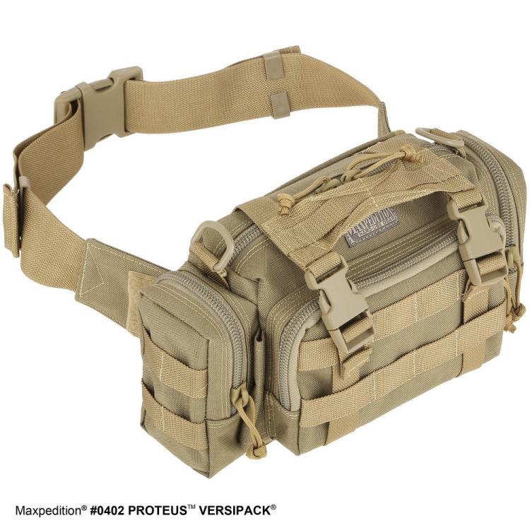 Taška přes rameno Proteus™ Versipack®, Maxpedition - Ledvinka Maxpedition Proteus Versipack