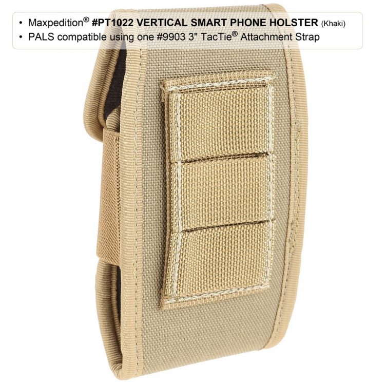 Pouzdro na mobil Maxpedition Vertical Smart Phone Holster