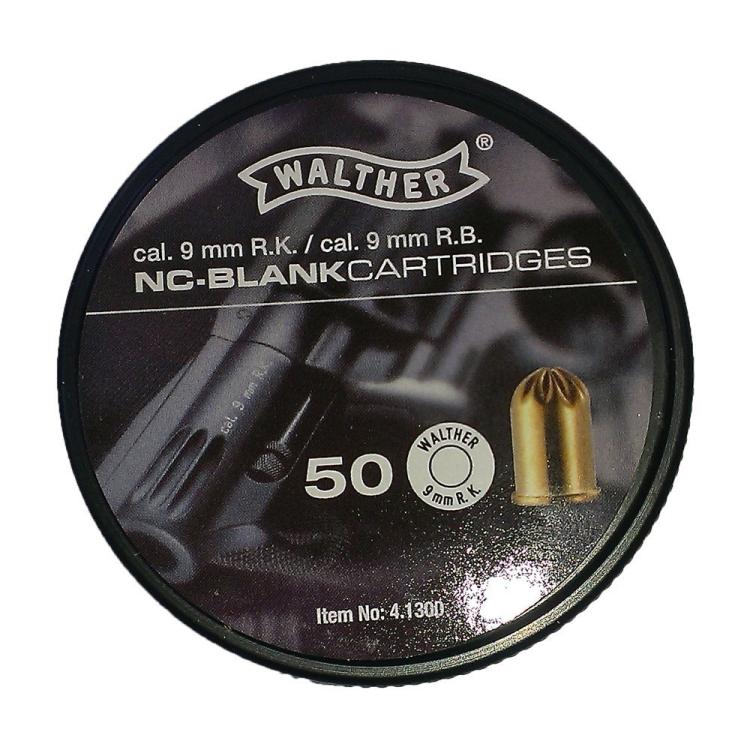 Startovací náboje pro plynový revolver 9 mm R.K., Umarex, 50ks