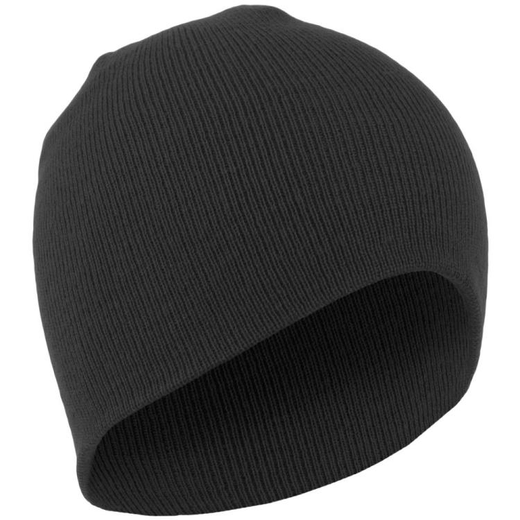 Zimní čepice Beanie, černá, Mil-tec - Černá čepice Beanie, Mil-tec