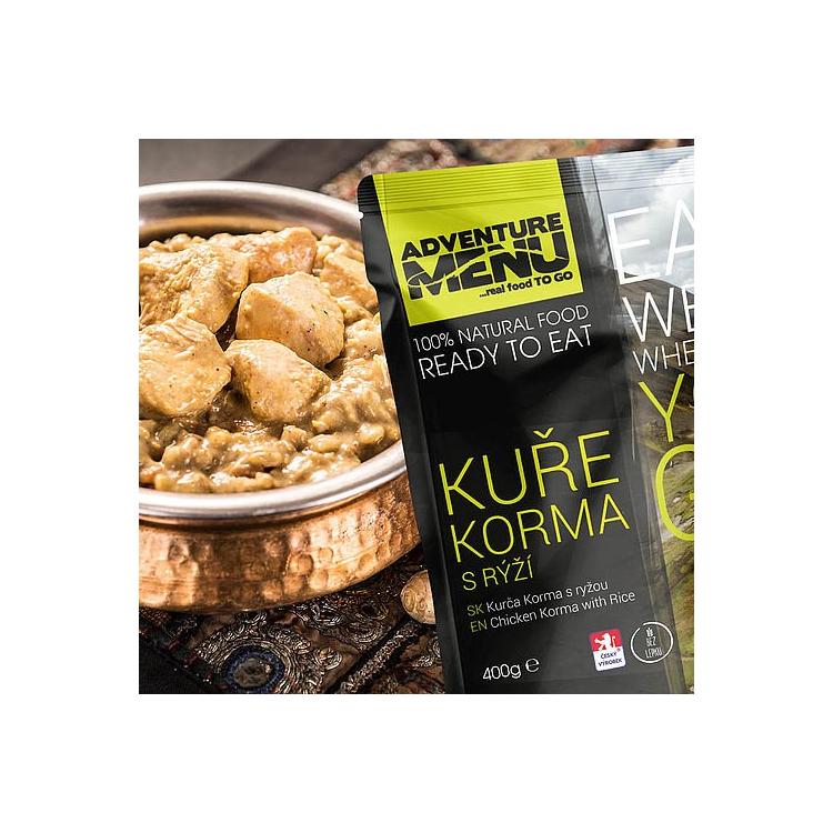 Kuře Korma s rýží, bez lepku, Adventure Menu - Kuře Korma s rýží (bez lepku), Adventure Menu