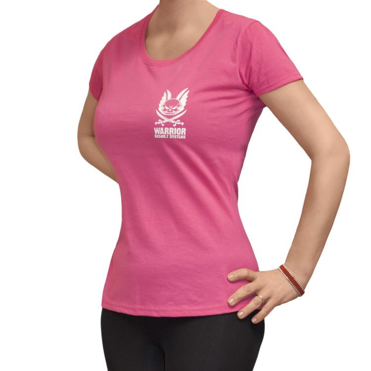 Dámské tričko, Warrior - Dámské tričko Warrior, barva Hot Pink