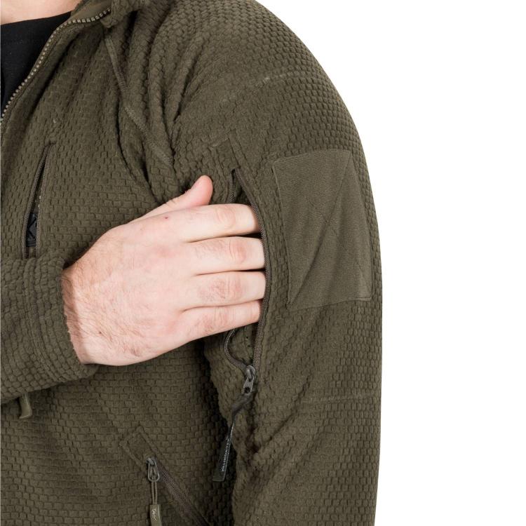 Fleecová bunda Alpha Tactical Jacket, Helikon - Fleecová bunda Helikon Alpha Tactical Jacket